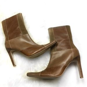 Steve Madden Triall Brown Leather Boots